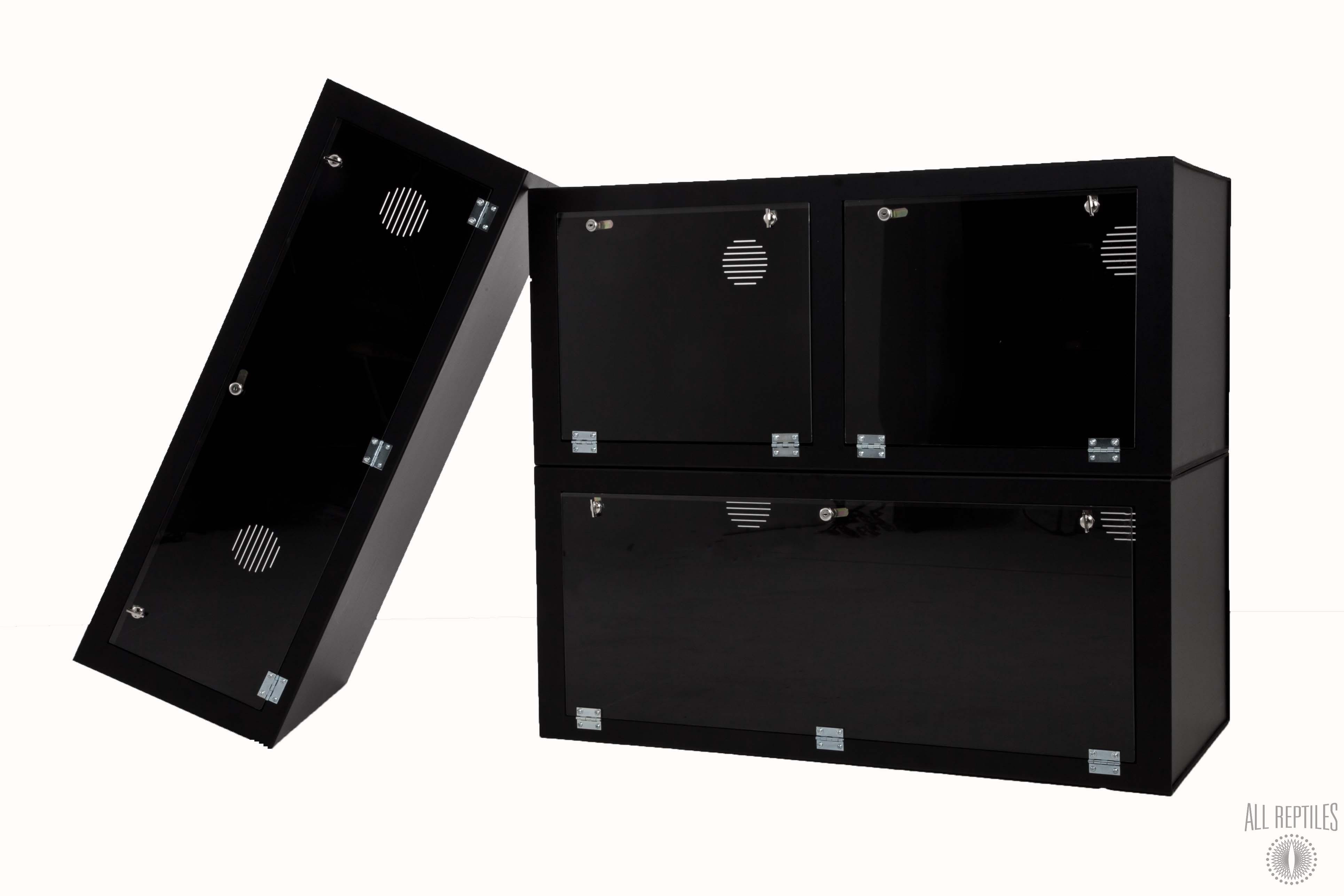 48x24x12 Double Divider Triple Door