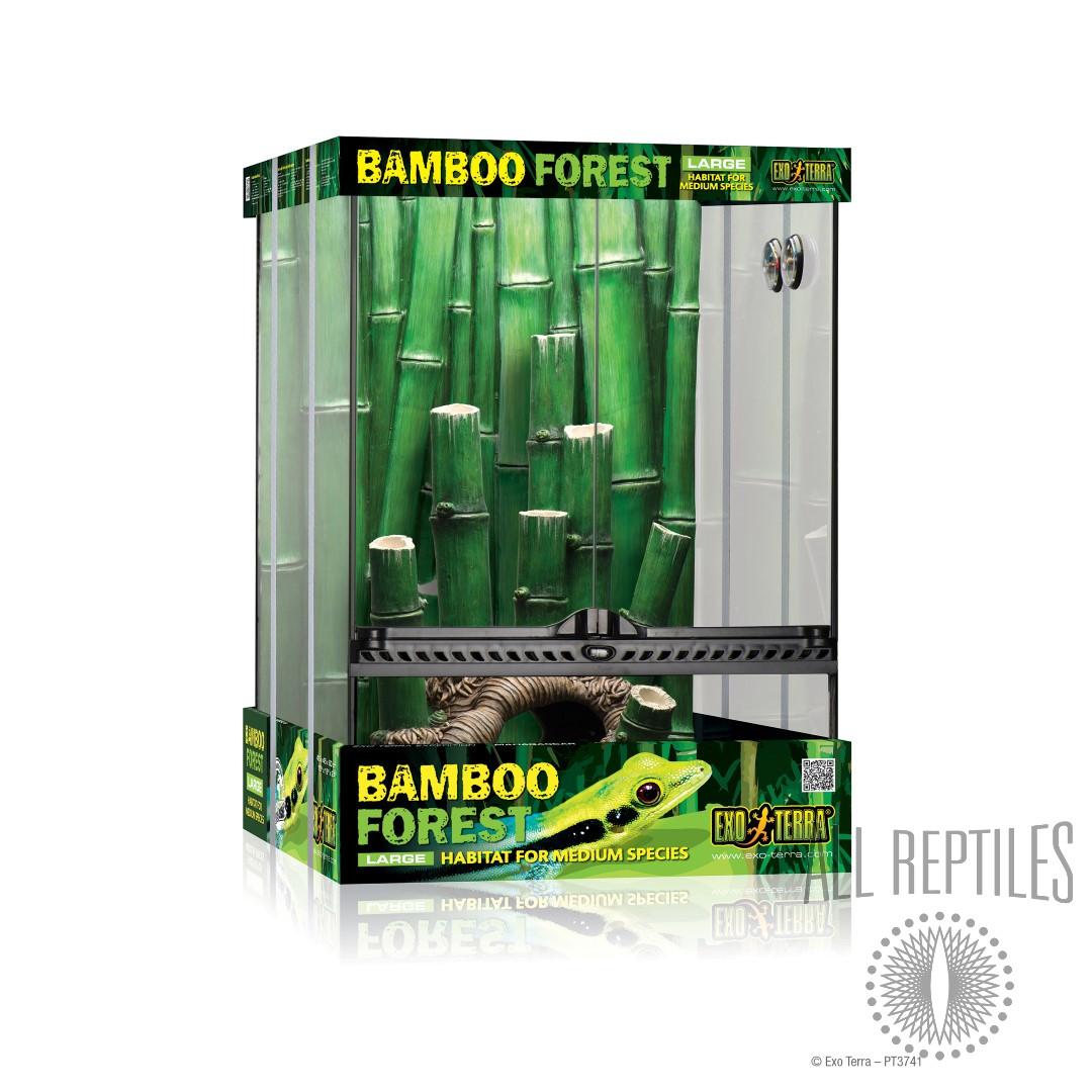 Exo Terra Bamboo Forest Terrarium