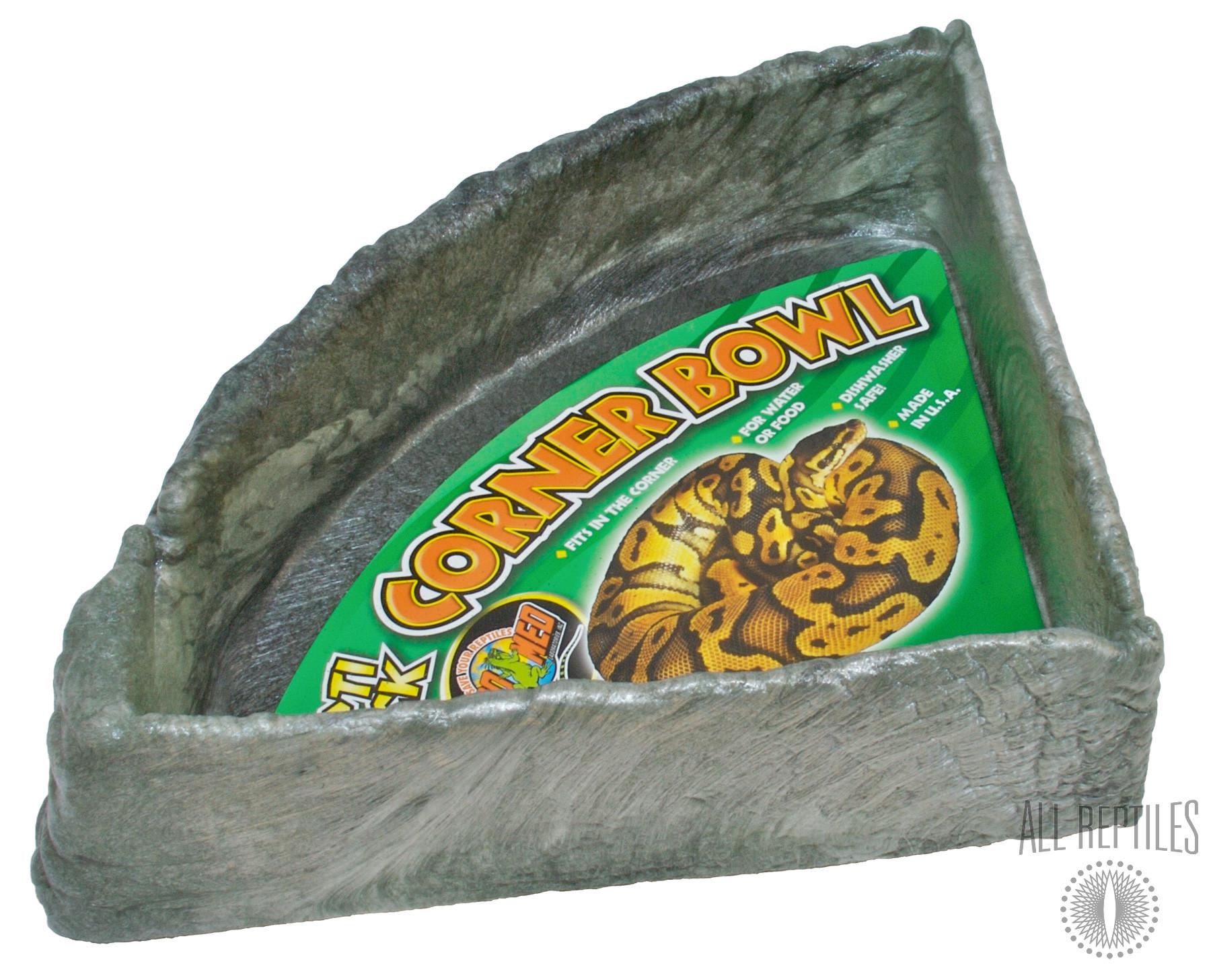 ZM Repti Rock Corner Bowl