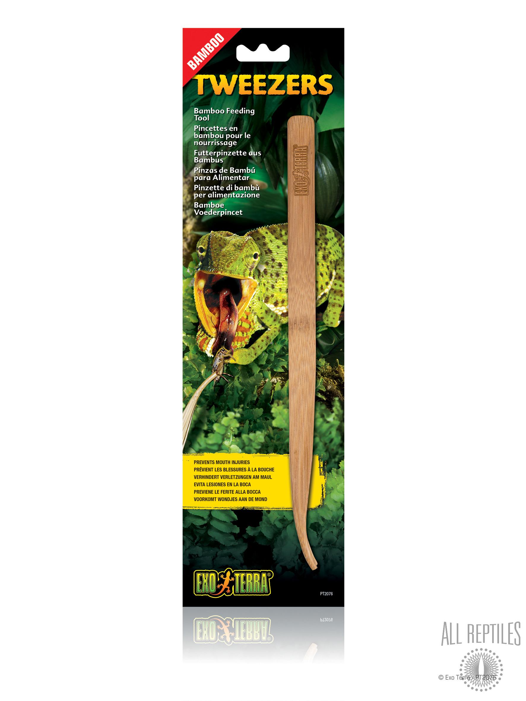 Exo Terra Bamboo Tweezers