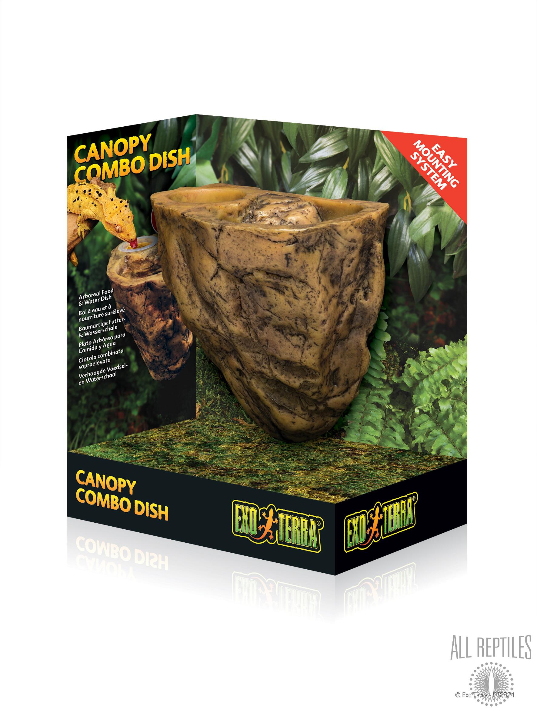 Exo Terra Canopy Combo Dish