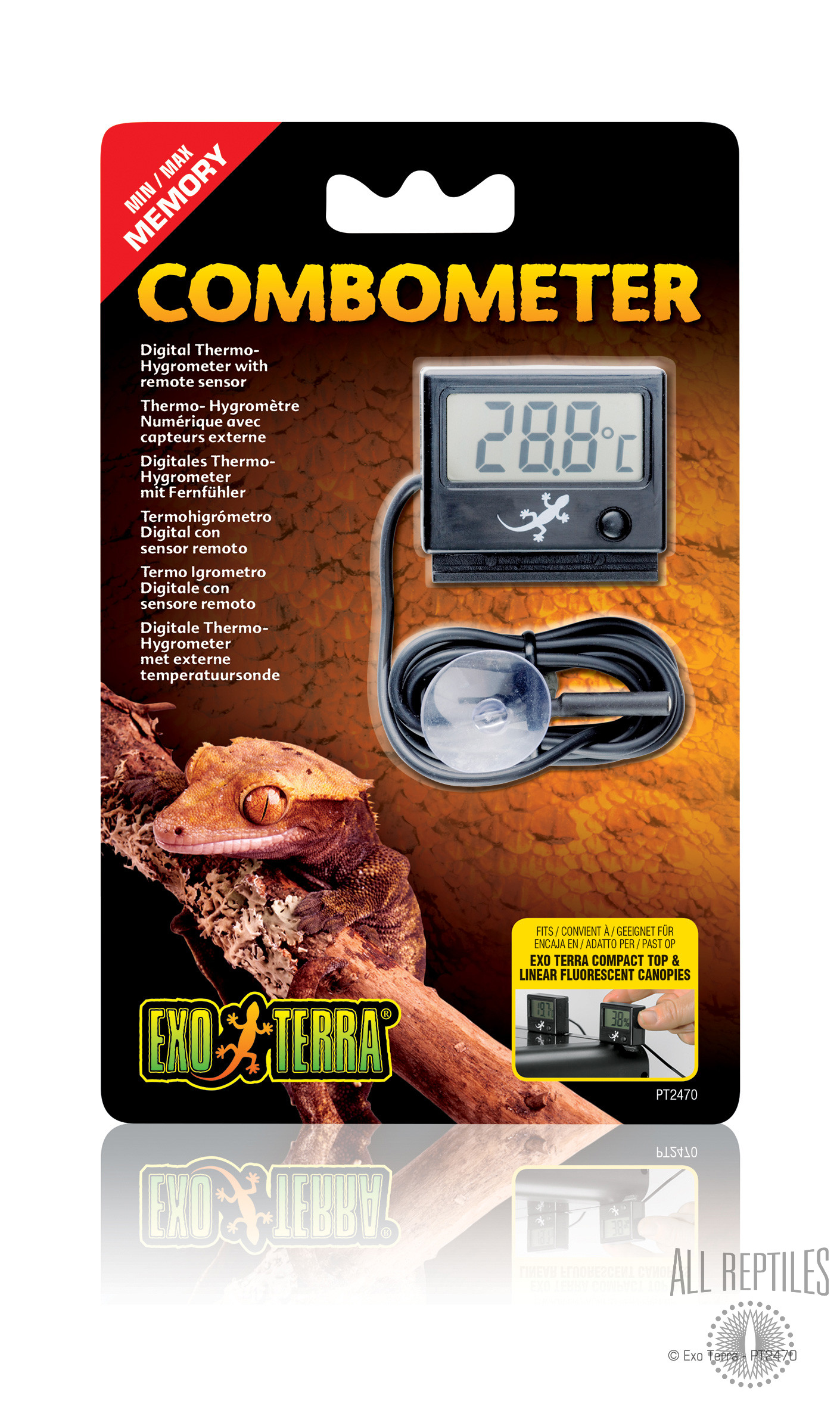 Exo Terra Digital Hygro/Thermo Meter Combo