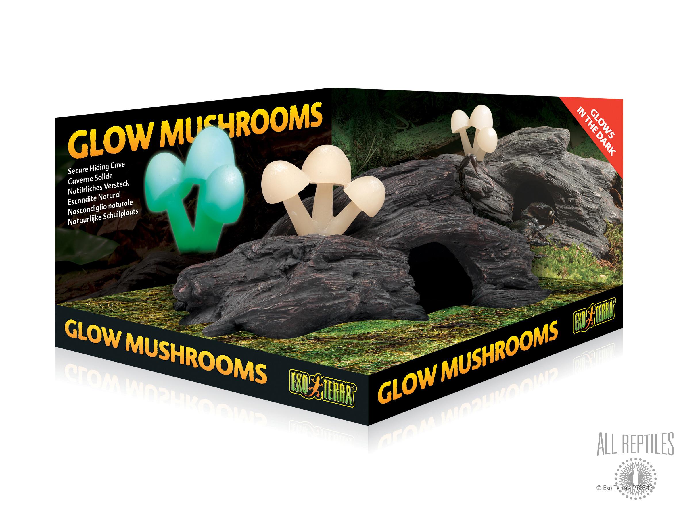 Exo Terra Glow Mushrooms Hideout