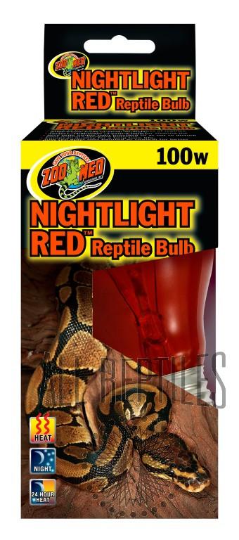 ZM Nightlight Red Reptile Bulb