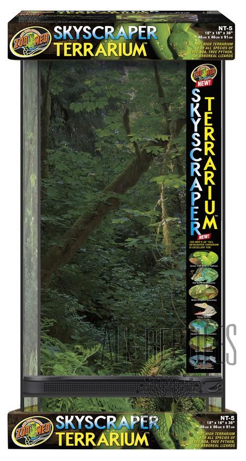"ZM Naturalistic Terrarium Skyscraper-18x18x36"""
