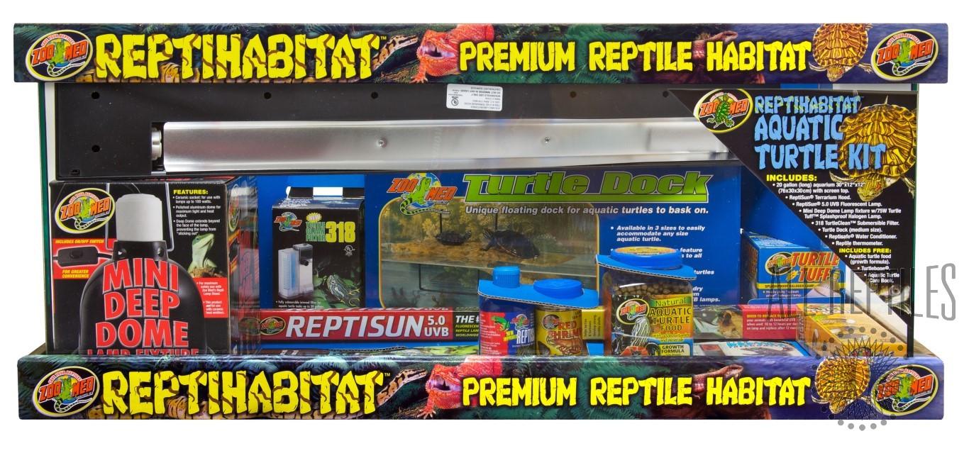 ZM 20G Repti Habitat Aquatic Turtle Kit