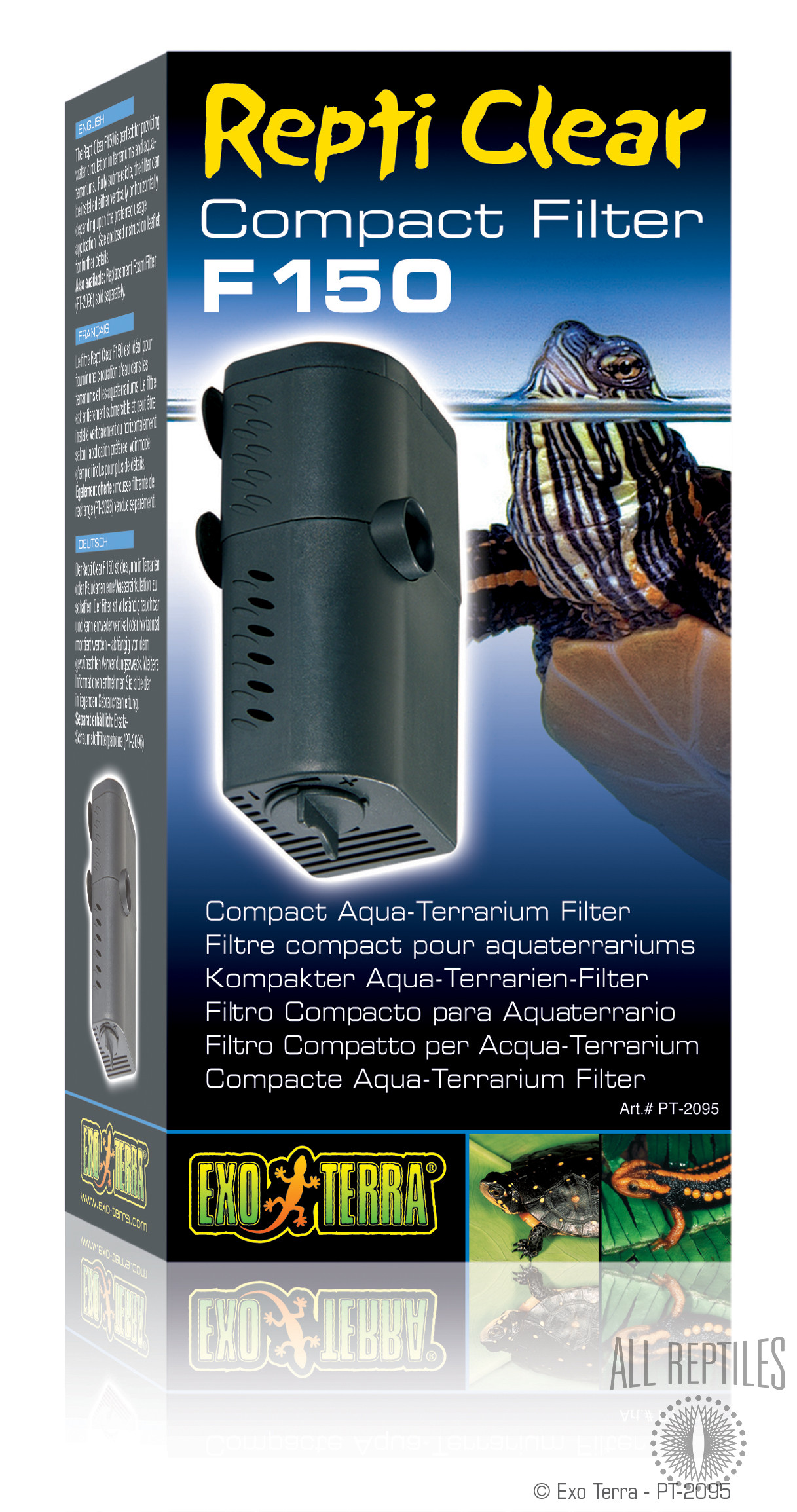 Exo Terra Compact Repti Clear Filter F150