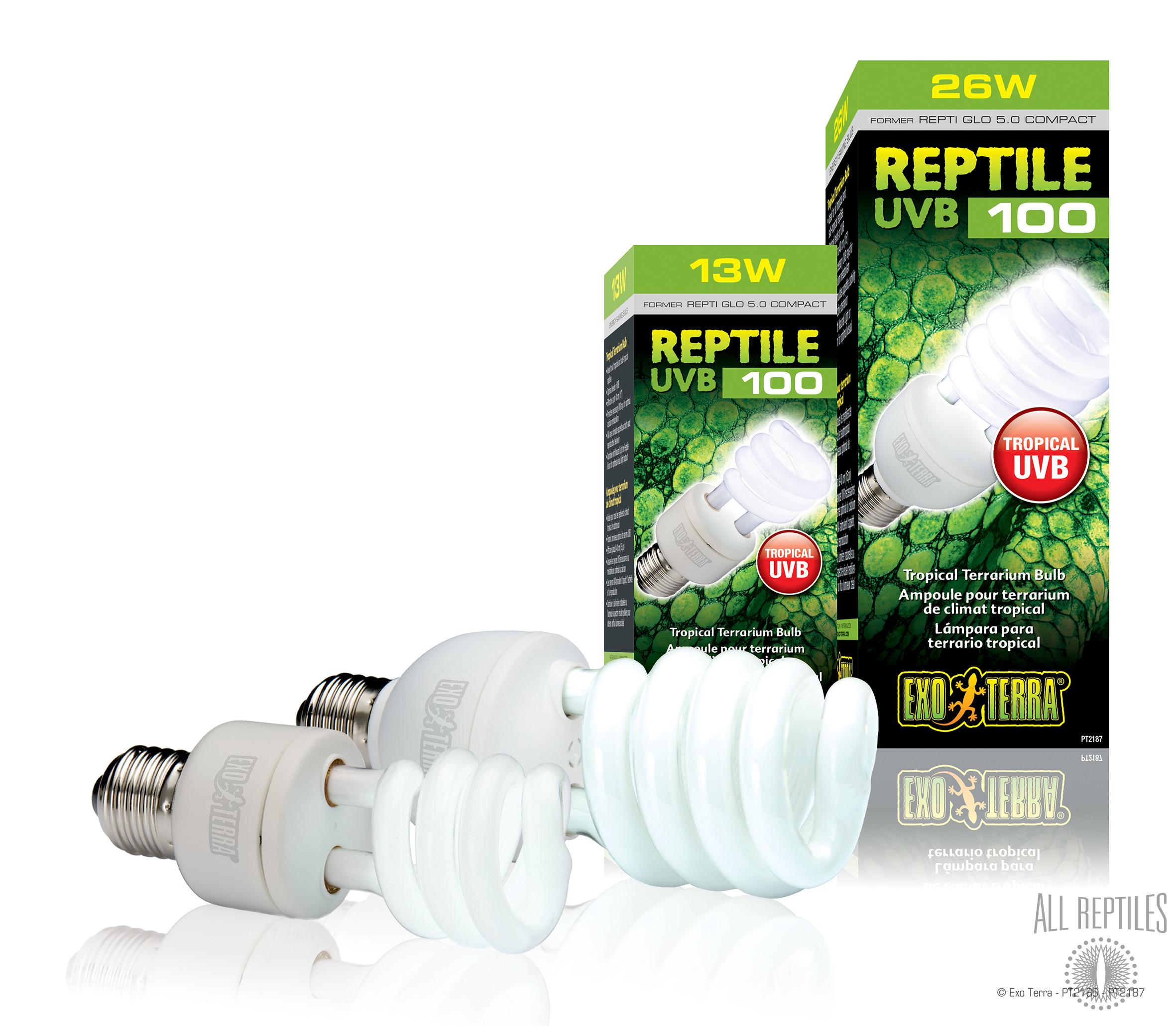 Exo Terra Reptile UVB 100 Compact