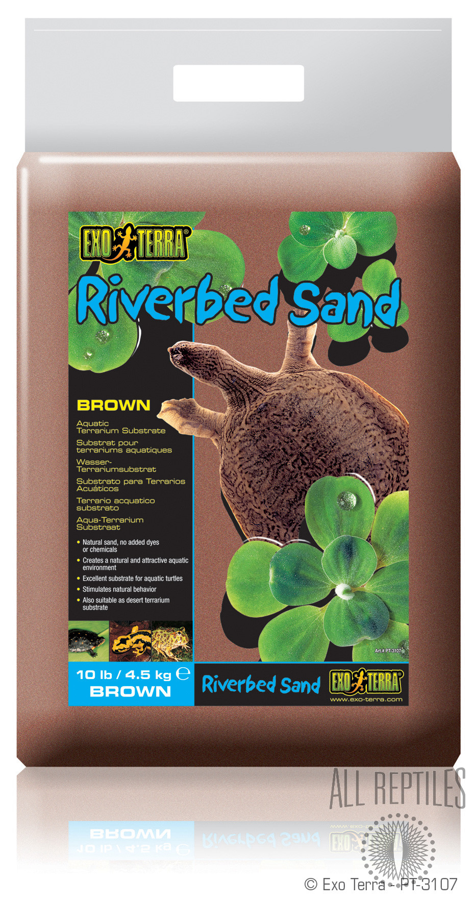 Exo Terra Riverbed Brown Sand