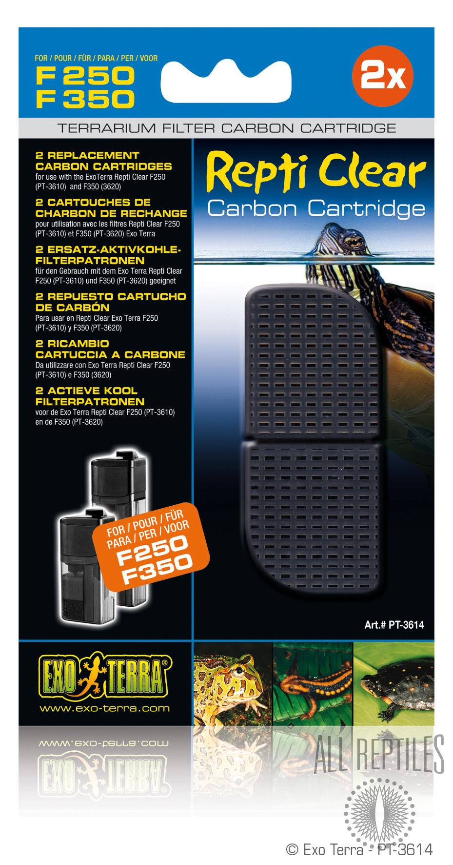 Exo Terra Repti Clear F250/F350 Carbon Cartridge