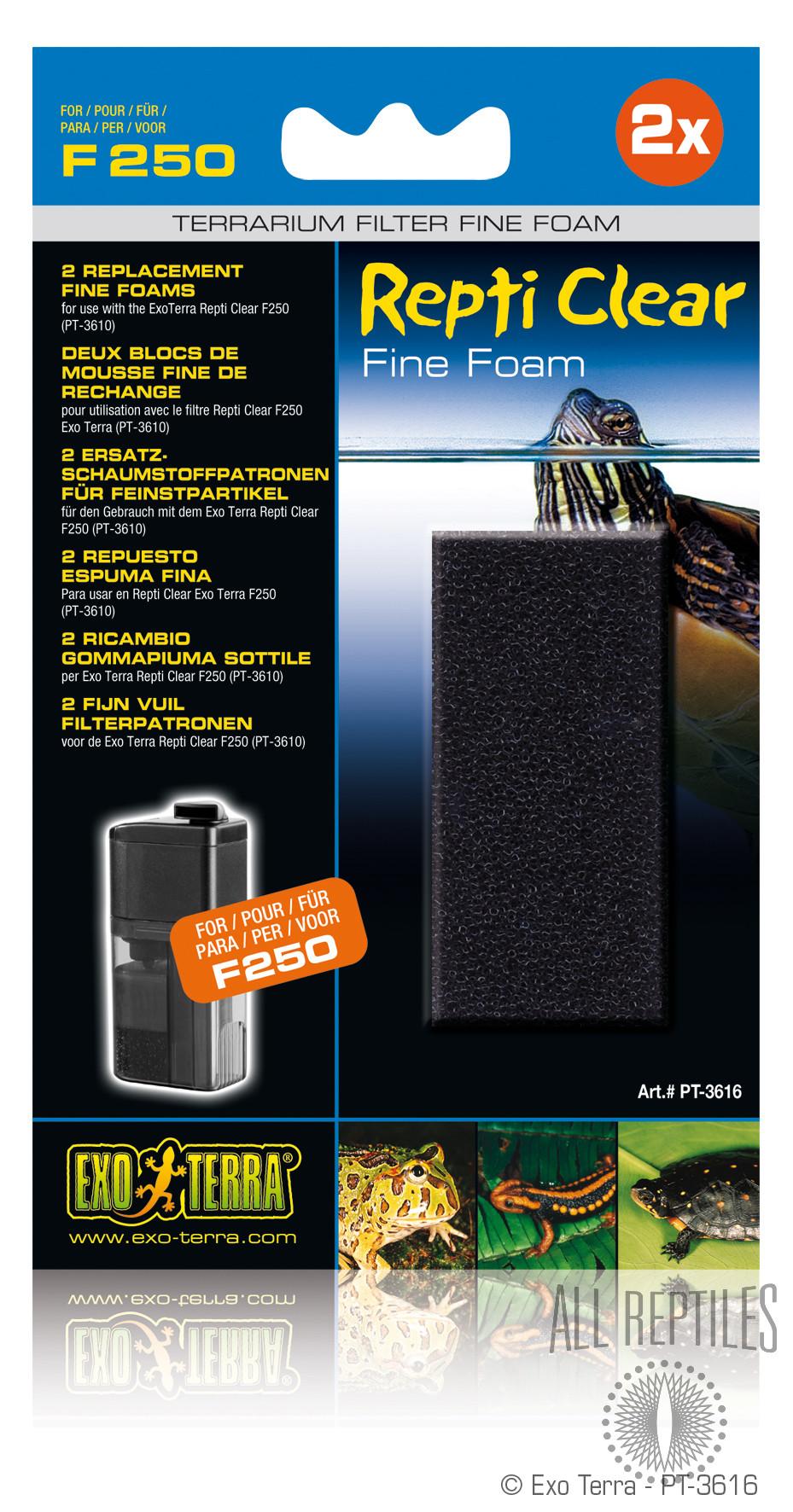 Exo Terra Repti Clear F250 Fine Foam