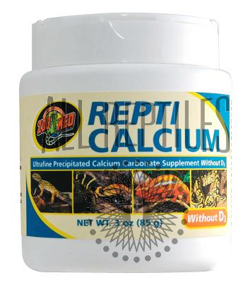 ZM Repticalcium without D3