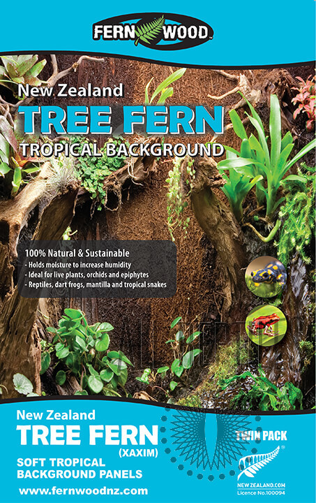 NZ Tree Fern Panels Twin Pack
