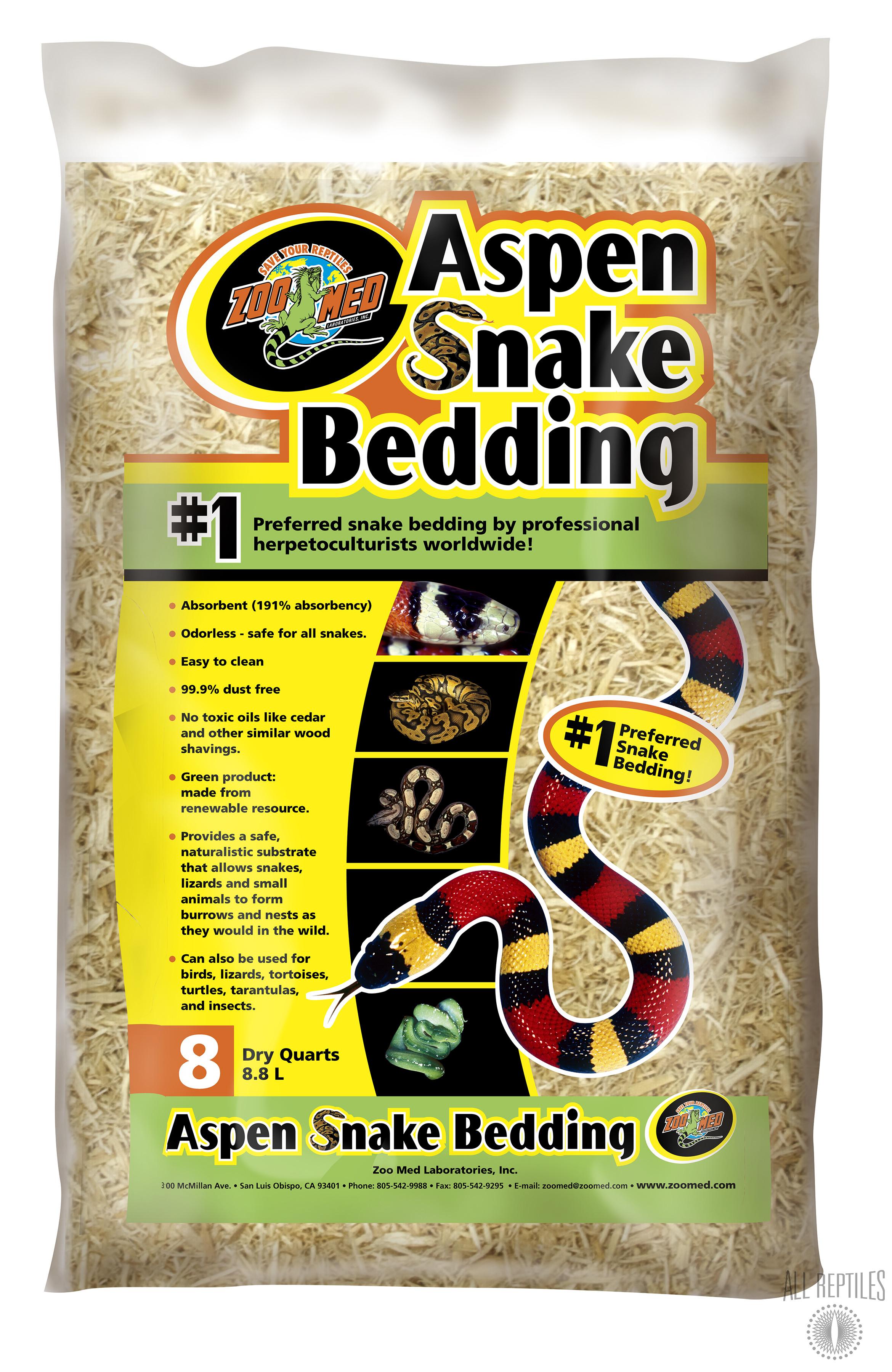 ZM Aspen Snake Bedding
