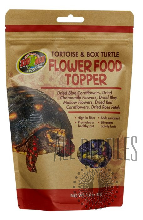 Tortoise and Box Turtle Flower Food Topper