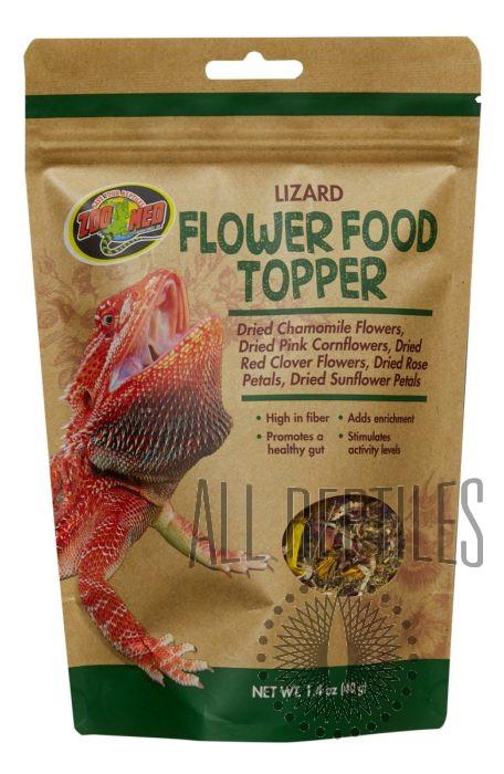 Lizard Flower Food Topper