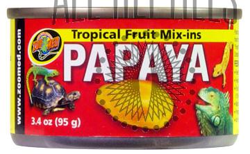 ZM Tropical Fruit Mix Ins Papaya