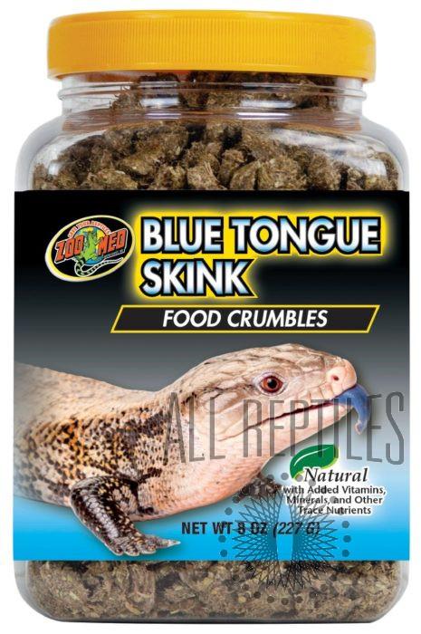 ZM Blue Tongue Skink Food Crumbles