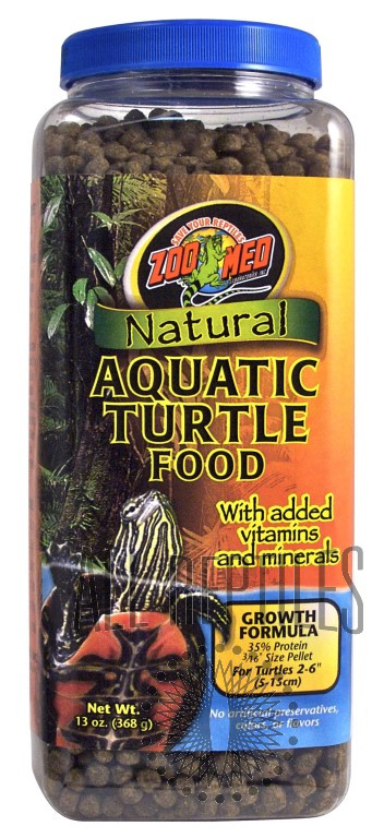 ZM Natural Aquatic Turtle Food Growth Formula