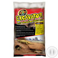 ZM Excavator Clay Burrowing Substrate