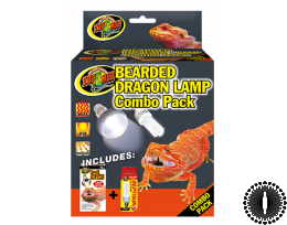 ZM Bearded Dragon Lamp Combo Pack