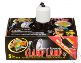 ZM Deluxe Porcelain Clamp Lamp