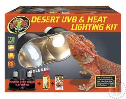 ZM Desert UVB & Heat Lighting Kit