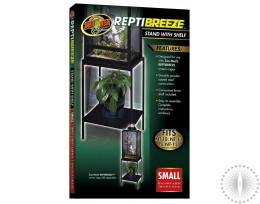 ZM Reptibreeze Stand with Shelf