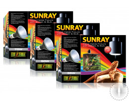 Exo Terra Sunray Metal Halide Fixture with Bulb