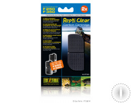 Exo Terra Repti Clear F250/F350 Carbon Cartridge
