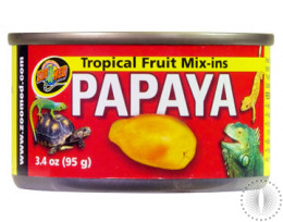 ZM Tropical Fruit Mix Ins Papaya