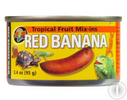 ZM Tropical Fruit Mix Ins Red Banana